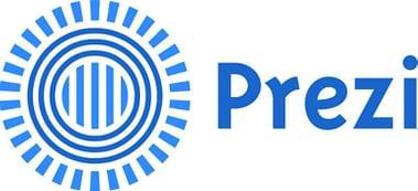 prezi logo Dream Engine Animation Studio, Mumbai