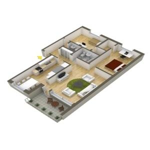 Isometric House Animation Video
