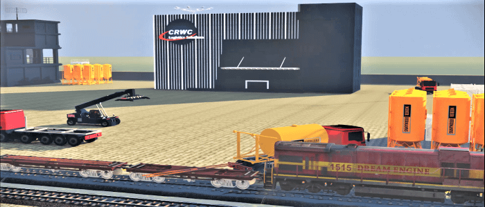 CRWC Cement Silos Delivery Animation Video