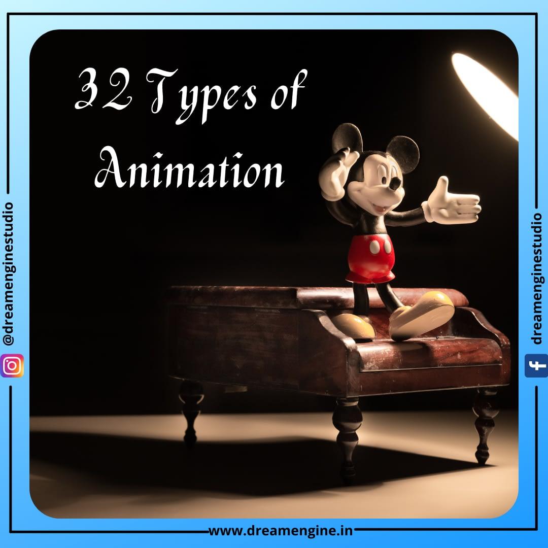 32 Types of Animation Thumbnail